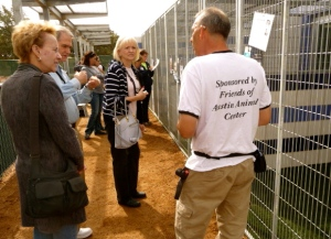 David Pasztor at Austin Animal Center