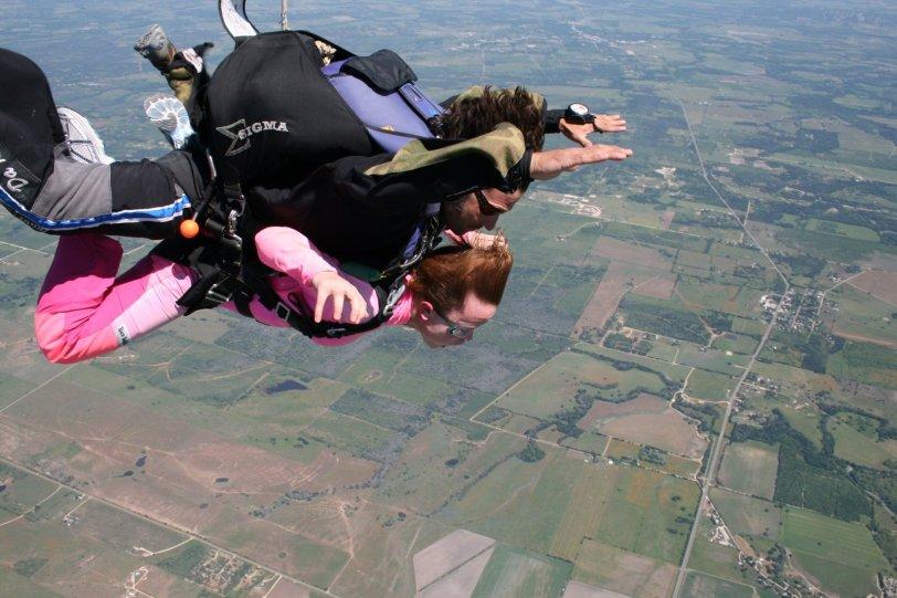 Skydive San Marcos, Texas.
